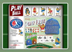 play ball baseball board game